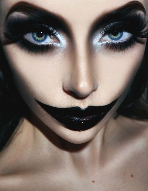 Maquillaje De Fantasia Profesional Emir Kent Peluqueria En - Maquillaje-profesional-halloween